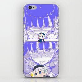 Sexy anime aesthetic - CENSORED iPhone Skin