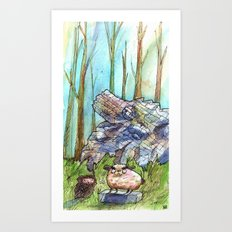 Great and Mighty Kings Art Print