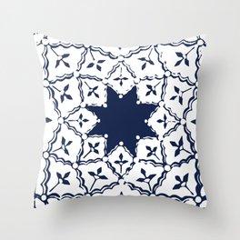 """""""Étoile de Marrakech"""" Throw Pillow"""
