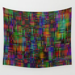 Abstract pixel background 123 Wall Tapestry