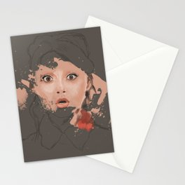 Splash portrait Stationery Cards