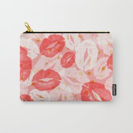 Pink Kisses Carry-All Pouch