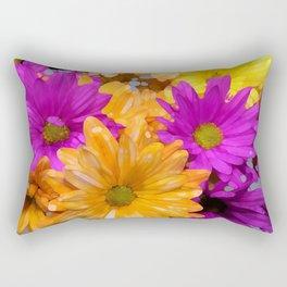 Bright Summer Daisies Rectangular Pillow
