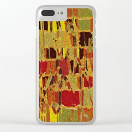 autumn colours abstract 1 Clear iPhone Case