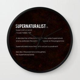 Supernaturalist Wall Clock