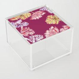 Elegant Tulips Acrylic Box