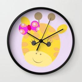 jirafa cata Wall Clock