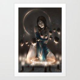 Levitation! Art Print
