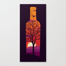 Bottled Up  Canvas Print