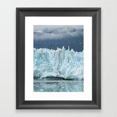 the marjorie glacier.  Framed Art Print
