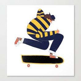 Skateboarder. Canvas Print