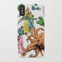 political iPhone & iPod Cases featuring Vintage Political Cartoon Map of Europe (1877)  by BravuraMedia