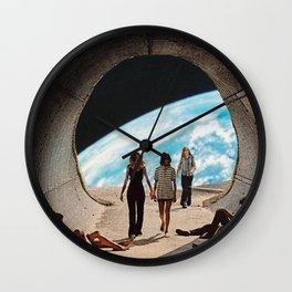 'Scifi Kids' Wall Clock
