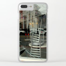 Caution, This Here's Earthquake Country Clear iPhone Case