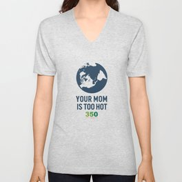 10th Anniversary - Your Mom Is Too Hot Unisex V-Neck
