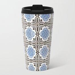 Portuguese Tiles 5 Travel Mug