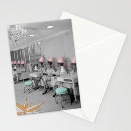 Vintage Hair Salon Stationery Cards