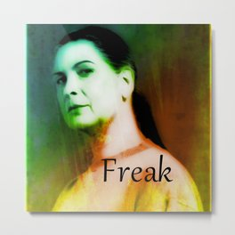 FREAK Metal Print