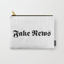 Fake News Carry-All Pouch
