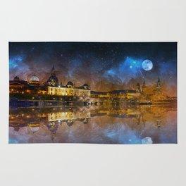 Dresden At Night Rug