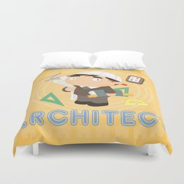 Architect Duvet Cover