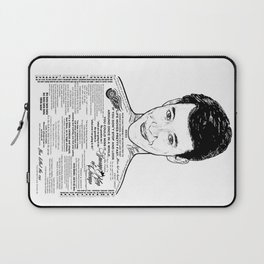 Save Ferris The Righteous Dude - Ink'd Series Laptop Sleeve