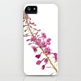 Flowers of fireweed iPhone Case