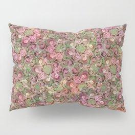 Beautiful Succulent Garden Pillow Sham