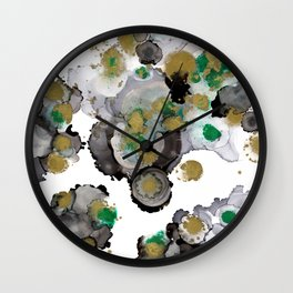 #005 - Green Black Blend Wall Clock