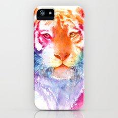 Rainbow stripes iPhone (5, 5s) Slim Case