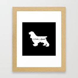Cocker Spaniel Framed Art Print