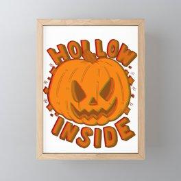 Hollow Inside in 3D Framed Mini Art Print