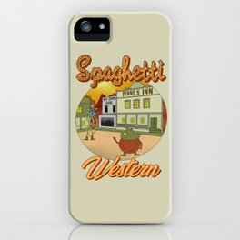 Spaghetti Western iPhone Case