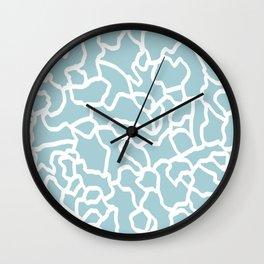 abstract siluet Wall Clock