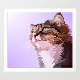 A Cat Art Print