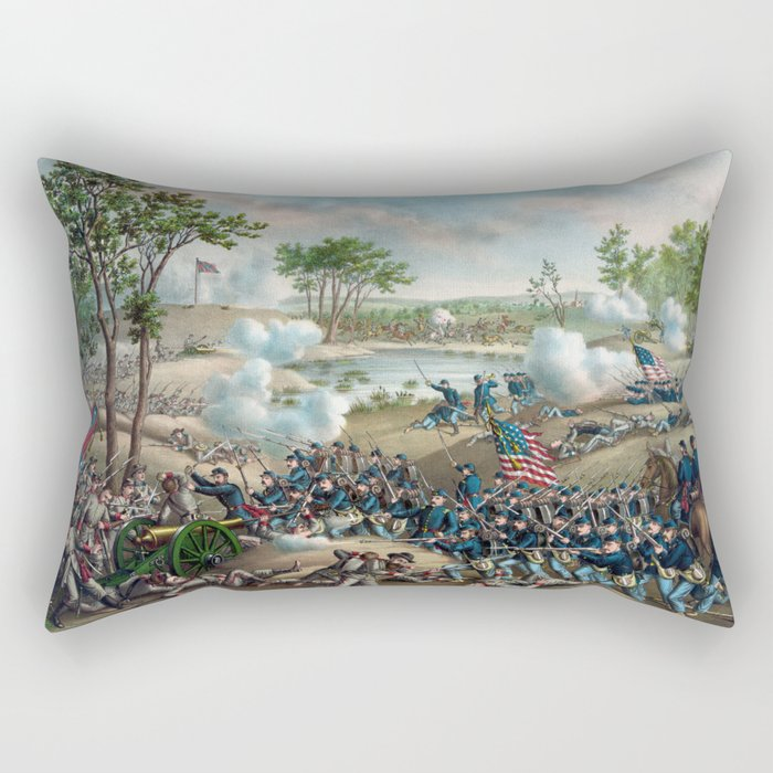 Battle of Cold Harbor Rectangular Pillow