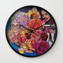 eat this Wall Clock