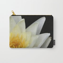White Lilly 1 Carry-All Pouch