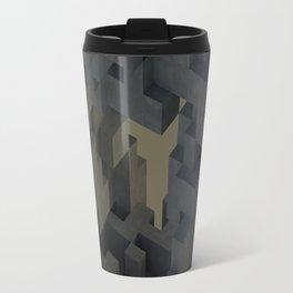 Abstract Concrete III Travel Mug