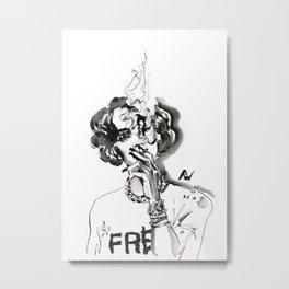 Marihanna Metal Print