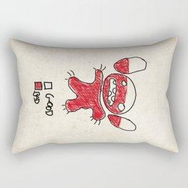 Stitch good&bad meter.... Rectangular Pillow