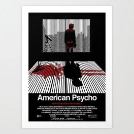 American Psycho - Poster Art Print