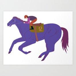 Violet champ Art Print
