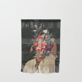Roses Bloomed every time I Thought of You Wall Hanging