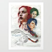 eternal sunshine Art Prints featuring Eternal Sunshine by Laura O'Connor