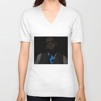 jay fleck V-neck T-shirts featuring Jay-Z  by Shyam13