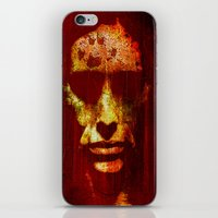 witch iPhone & iPod Skins featuring witch by Ganech joe