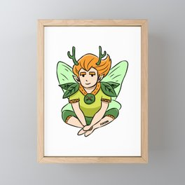 Forest fairy magic fairy tales dust Children Gift Framed Mini Art Print
