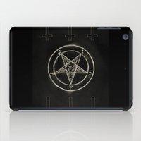 pentagram iPad Cases featuring Pentagram by Corpse inc