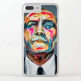 Collins by carographic Clear iPhone Case